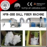 CE Certified HFM-3000 polyester siliconized pearl Fiber Machine,ball fiber machine,plush toy filling machine