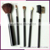 5pcs top quality Natural hair mini cosmetic brushes