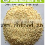 2014 new crop dehydrated garlic granule5-8/8-16/16-26/26-40/40-80 mesh from factory with white color