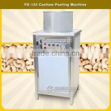 YG-133 Automatic Stainless Steel cashew nuts peeling mahcine,cashew nut shelling machine