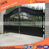 Side yard steel pipe galvanized mesh farm gate
