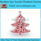 Factory custom acrylic clear christmas ornament/chinese christmas ornament crafts