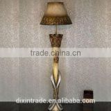 fancy coloured hand craft standing floor lamp