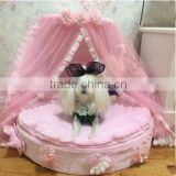 Luxury elevated pet dog bed wholesale universial soft pet bed