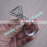 8 Shape Galvanized Steel Wire Spring Clip for Ceiling Grid Advertising