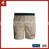 100% Polyester Pique sublimation cricket shorts