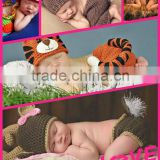 wholesale 2016 unique animal shape knitting clothes design newborn baby photography props