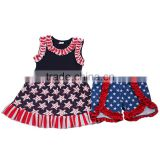 Remake kids summer clothing back to school newborn outfits toddler girl clothing MY15-04