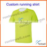 Runtowell 2013 high quality quickly dry running t shirt / tank tops for men / customized running shirts