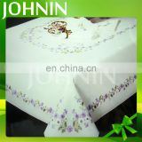 high quality factory direct wholesale popular customized embroidery table cloth