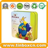 Custom Square Metal Tin Box For Gift Storage