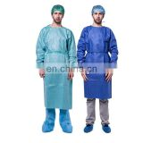 Custom wholesale disposable SMS Hospital medical gowns