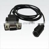 For verifone CAA0079 Mini DIN to DB9 RS232 Cable For Vx810 vx820 (with Rs232 Connectivity)