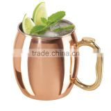 Different designed Moscow mule drinking mug cups