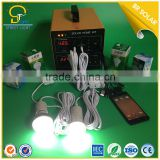Integrated Type Energy Saving 500w portable mini solar light kits LCD display and DC/AC output