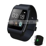 New Arrival Heart Rate Bluetooth Smart Wrist Watch for iOS and Android