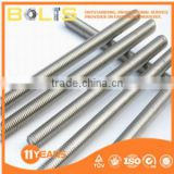 high quality 8.8 grade white zinc plated threaded rods