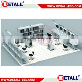 Assembly electronic work bench plan of ESD system (Detall)