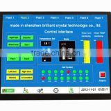 800x600 dots matrix 10.4 inch tft lcd module support RS232.RS485.TTL with 4 wire touch panel and STM32F103 controller