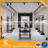 Metal display rack for clothing ,shoes,bag,supermarket,chain stores