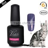 free acrylic nail samples ,72 colours ,Cat eye 3D effect uv gel ,magnetic pearl powder ,organic nail ,nail polish price