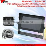 RV-7013V Heavy Duty Car Reverse Parking System with 7inch waterproof / metal housing monitor