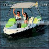 Mini small personal aluminium electric sea inboard water jet ski engine speedester jet boat for sale