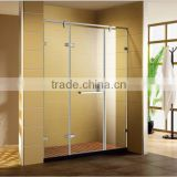 Good Sale China Glass Factory Customized with hinges&shelf door in shower cabin/bathroom