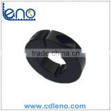 "Black Anodized 1/2"" ID Aluminum Clamping Shaft Collar"