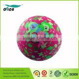 8.5 inch custom colorful inflatable rubber playground ball                                                                         Quality Choice