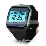 Bluetooth Vibrating Bracelet Watches with Can answer phone calls, time, listen to music, Show Caller ID on LCD display