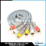 Xinya 3RCA Male to 3 RCA Male Composite Audio Video AV Cable Plug 3X RCA Retail & Wholesale 1.5M 3M 5M 10M 15M 20M 10 FT