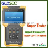 high quality digital multi function cctv tester support CVI camera,AHD camera,IP camera cctv camera tester                                                                         Quality Choice