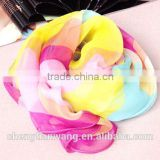 2015 new product latest design good quality beautiful raw silk scarf