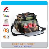 Outdoor Camping Camouflage Color 2 Person Picnic Bag Set, Insulated Lunch Bag, Insulated Cooler Bag