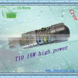 Top sales -auto led bulbs cree chips-hottest t10 new design car bulbs high power-12v led bulbs cree 15w