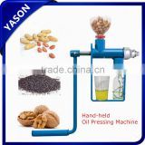 High quality Mini Hand Operated Oil Press/Manual Oil Press Machinery