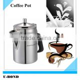 Cylinder stainless steel air lines pot