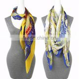 Fashion Printing chiffon scarf knitting machine Square Scarf