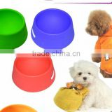 2014 New Portable and Unbreakable Collapsible Silicone Dog Bowl/Silicone Pet Bowls                                                                         Quality Choice