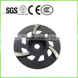 "7"" grinding wheel making machine for concrete"
