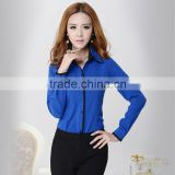 Ladies office shirts & blue shirts women for business wear& blouse designs for women