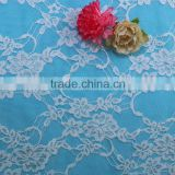 Latest hot nylon spandex various colorful thailand lace fabrics lace sleeves to add to wedding dress lace tablecloth