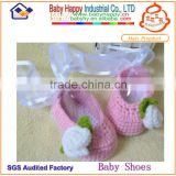 handmade kniting girl ballet soft baby moccasins shoes