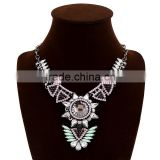 fashion jewelry new design diamonds crystal jewelry pendant necklace