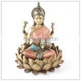 Resin Hindu Goddess Kali Maa Statue wearing fabric clothes