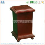 China factory supplier solid wooden cremation urn ,wooden urn for ashes