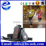 bike /running LIGHT UP16 Yellow LED's Reflective day/ night Safety Vest