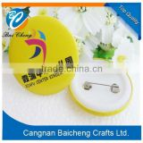 Cheap Metal Button Badge/ Mirror Button Badge Pin/ Wholesale Custom Tin Badge Supplier In China with Nice Cheap and High Quality