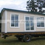 Prefabricated cheap ready made 1 bedroom mobile homes